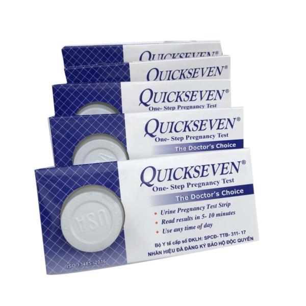 Que thử thai Quickseven 1 Que