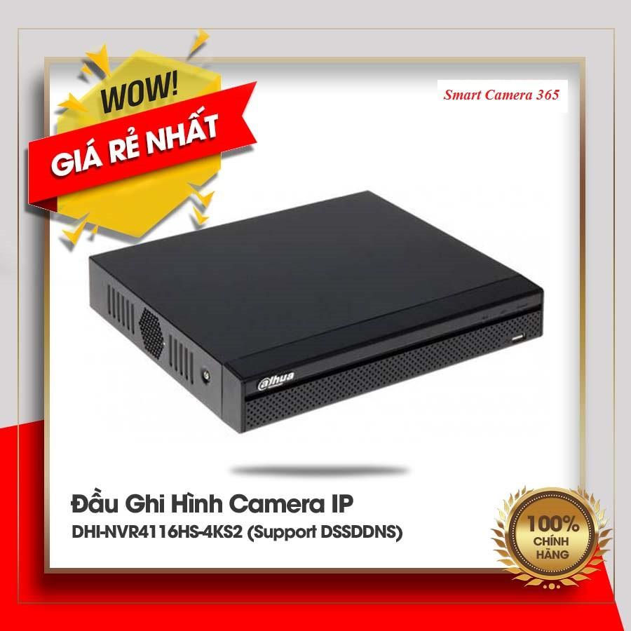 Đầu ghi IP 16 kênh DAHUA DHI-NVR4116HS-4KS2/L-