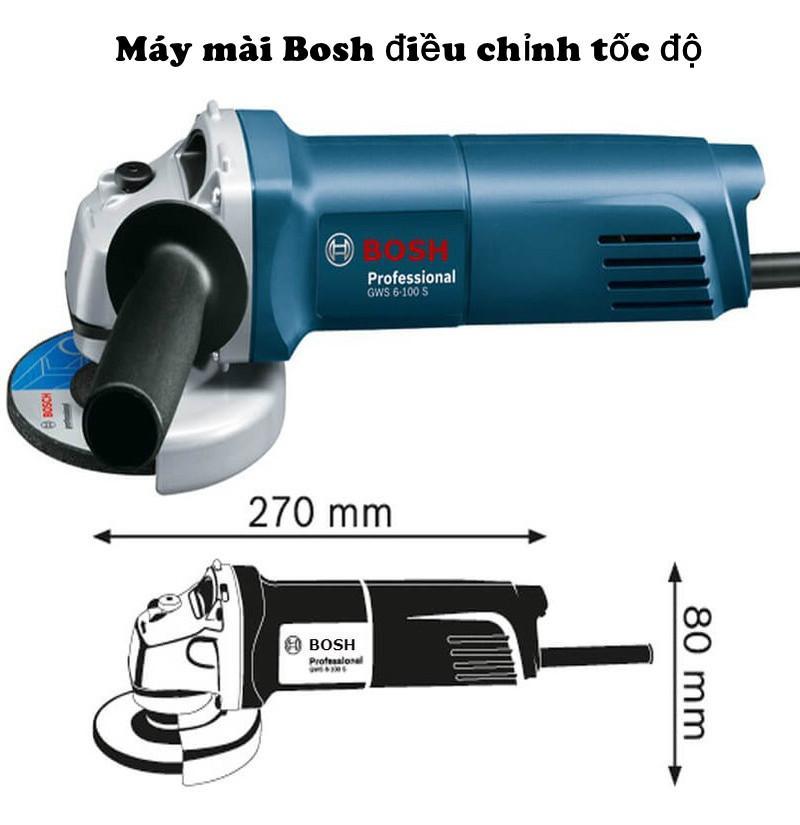 Máy mài, máy cắt Bosh GWS6 -100 có điều chỉnh tốc độ