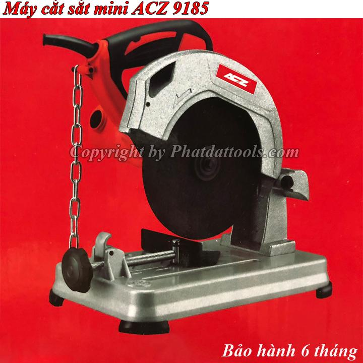 Máy cắt sắt ACZ 9185-Máy cắt sắt bàn mini-Dùng lưỡi 185mm