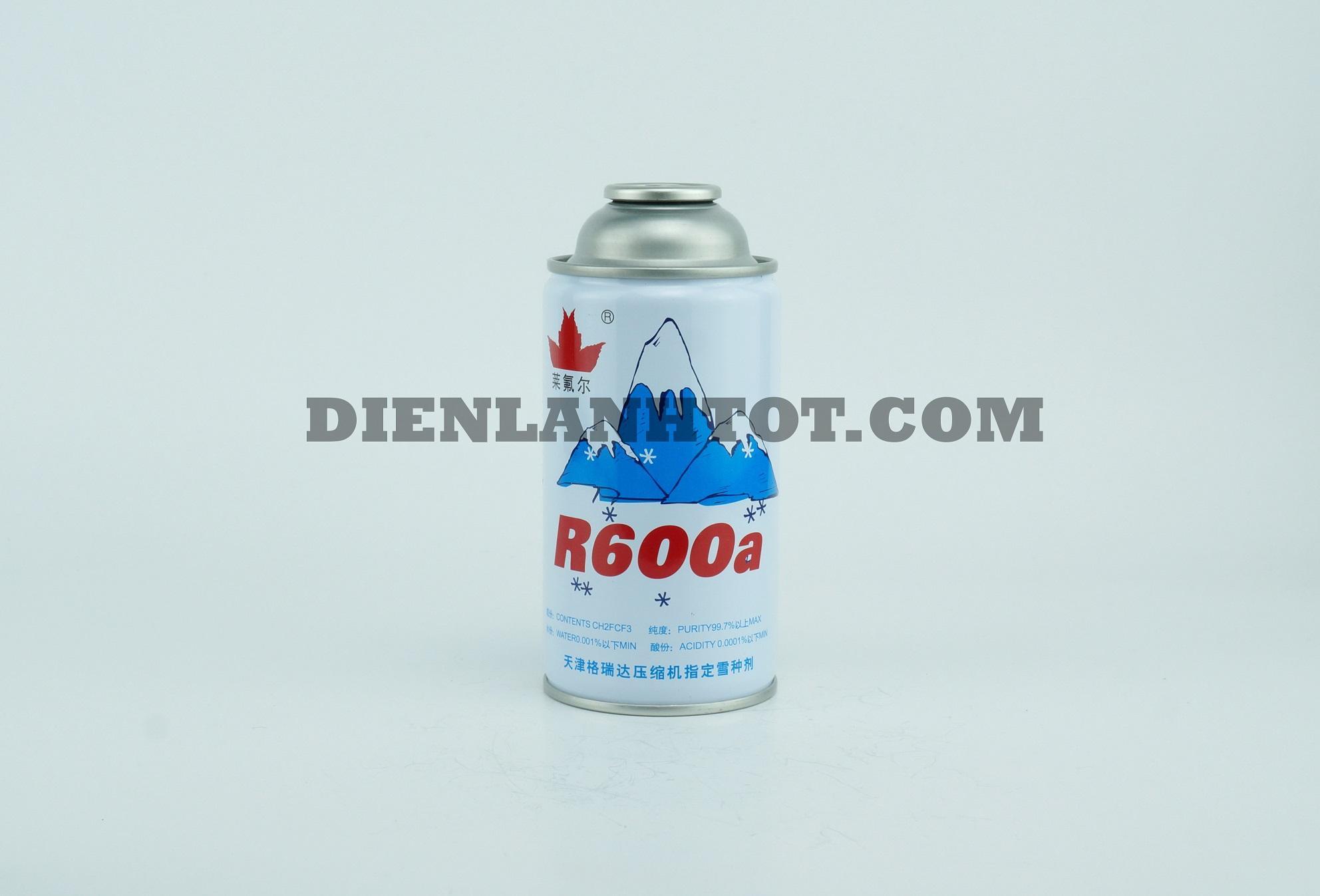 Gas lon R600a