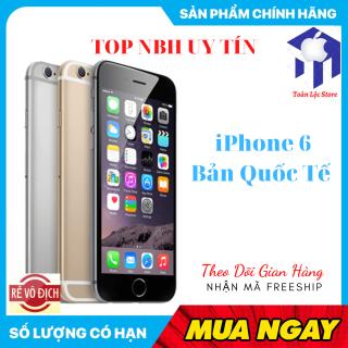 Điện Máy Toàn LộcĐiện Thoại APPLE IPHONE 6 64GB MỚI Bản QUỐC TẾ NGUYÊN ZIN Chính Hảng Bảo Hành 1 năm thumbnail