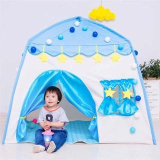 Lều cho bé, lều du lịch,lều lâu đài công chúa hoàng tử phong cách Hàn Quốc cho bé vui chơi thumbnail
