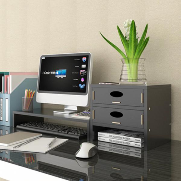 Bảng giá Kệ kê màn hình máy tính , Kệ đựng sách mini , kệ gỗ lắp ráp đa năng , kệ để máy tính laptop phù hợp màn hình tới 24inches Tặng giá đỡ điện thoại Canashop Phong Vũ