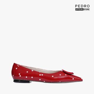PEDRO - Giày đế bệt nữ tính Polka Dot PW1-66300027-2-08 thumbnail