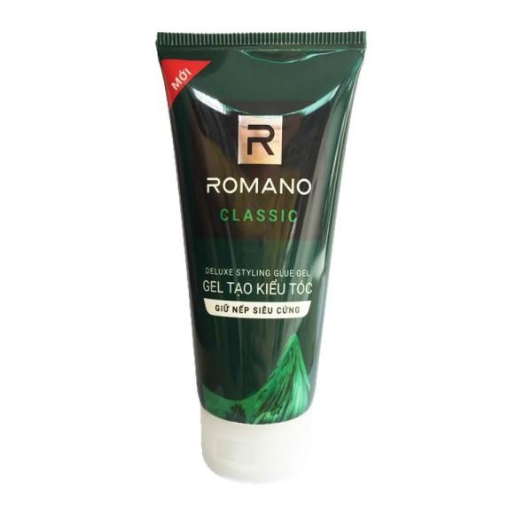 Gel Vuốt Tóc Siêu Cứng Romano Classic - 150G giá rẻ