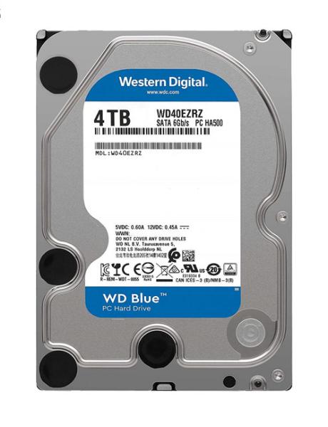 Bảng giá Ổ cung HDD WD Blue dung lượng 4TB Phong Vũ