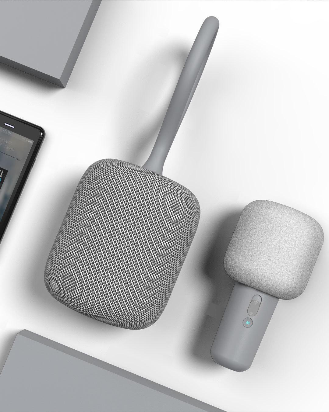 Bộ Micro Karaoke kèm loa kết nối bluetooth Xiaomi iK8 UL Life