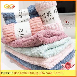 [HÀNG CAO CẤP] Khăn mặt Hàn Quốc, khăn mặt lông cừu thông hơi, mềm mại, an toàn cho da - Gigamart thumbnail
