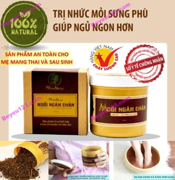 COMBO 2 HỘP Muối ngâm chân 350g - Wonmom (Việt Nam) nhập khẩu