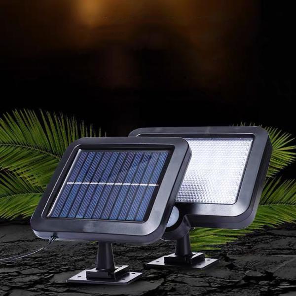 Đèn năng lượng mặt trời Solar Light 3 chế độ sáng, pin lithium 1200mAh - Bảo hành 03 tháng
