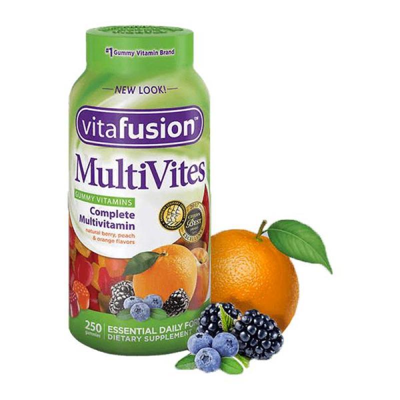 Gummy Vitamin tổng hợp Vitafushion Multivites 250 viên cao cấp