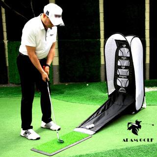 New 2022 - COMBO Lồng tập Chip Golf + Thảm tập swing 0.3x0.6m + 01 TEE tặng kèm thumbnail