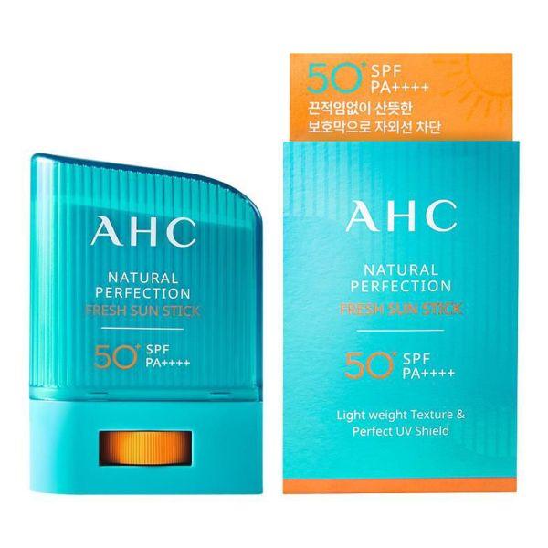 Thanh Chống Nắng Tươi Mát Tự Nhiên AHC Natural Perfection SPF 50PA ++++ (14g)