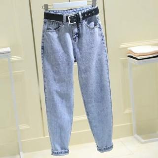 [HCM]Quần baggy jean quần bò chất vải cao cấp chất lượng thời trang trẻ trung lưng cao 1990STORE MS513 thumbnail