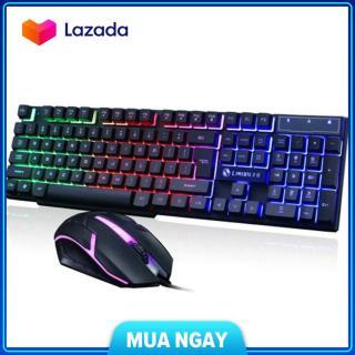 Bộ bàn phím và chuột g21 chuyên game led 7 màu + lót cam kết sản phẩm đúng mô tả chất lượng đảm bảo an toàn đến sức khỏe người sử dụng thumbnail