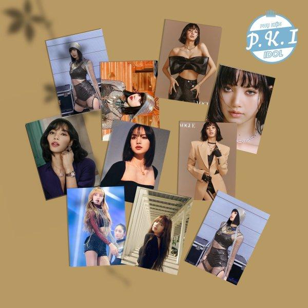 Bộ ảnh in hình idol Lisa Blackpink - Kingdom