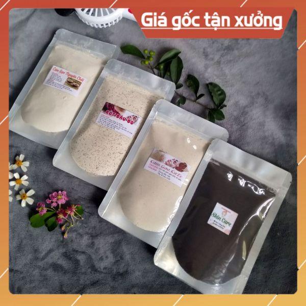 4 gói Bột Cafe + Bột Đậu Đỏ + bột cám gạo + cám gạo cafe giá rẻ