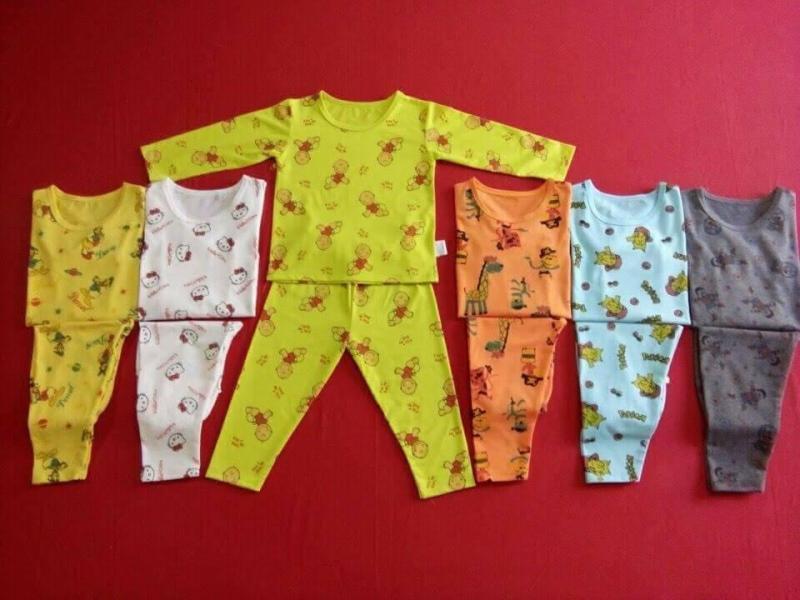 Nơi bán set 5 bộ đồ bộ quần dài,tay dài cho be(5-7kg)