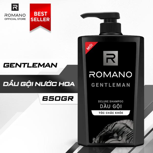 Dầu Gội Hương Nước Hoa Romano Gentleman 650g nhập khẩu