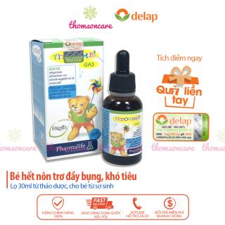 Gas Bimbi - Hỗ trợ giảm rối loạn tiêu hóa cho bé - Chai 30ml - Nhập khẩu từ hãng Fitobimbi của Ý - Hỗ trợ đường tiêu hóa của trẻ giảm nôn trớ ăn không tiêu thumbnail