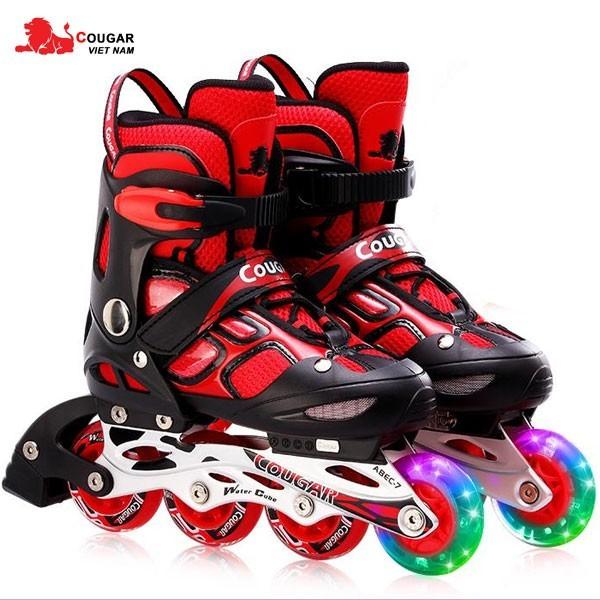 Mua Giày trượt Patin CHÍNH HÃNG Cougar có đèn - bao giá thị trường ĐỒ TẬP TỐT