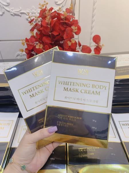 Set ủ trắng nhả nắng Wesy Cosmetics