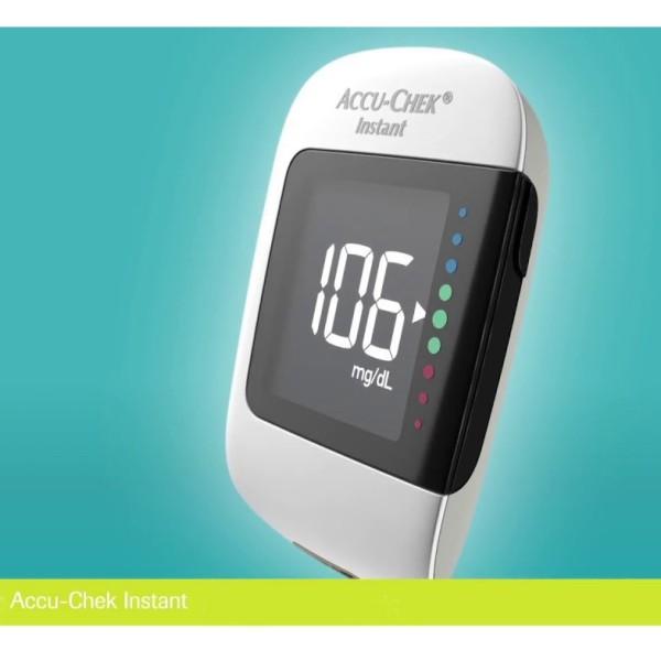Máy đo đường huyết Accu- check instant nhập khẩu Mỹ, cam kết hàng đúng mô tả, sản xuất theo công nghệ hiện đại, an toàn cho người sử dụng bán chạy