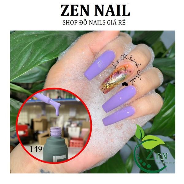 Sơn Gel Tone màu Tím 15ml, Màu sơn móng tay hottrend nhất năm giá rẻ
