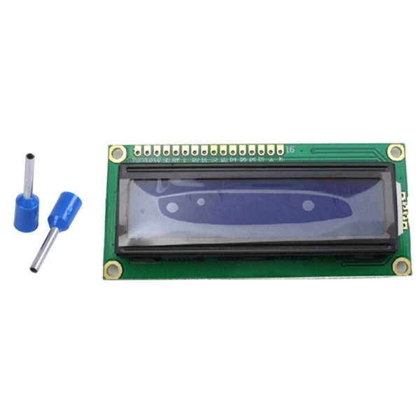 1000Pcs Wire Copper Crimp Connector Insulated Pin Terminal & 10Pcs 1602 16X2 Character Lcd Display Module