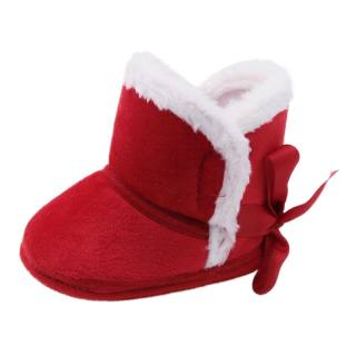 Winter Warm Toddler Shoes Indoor Baby Shoes Soft Sole Crib Shoes First Walkers Cotton Boots