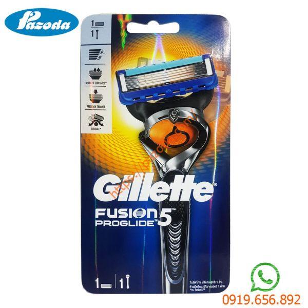 Dao cạo râu 5 lưỡi Gillette Fusion Proglide (1 tay cầm và 1 đầu cạo)