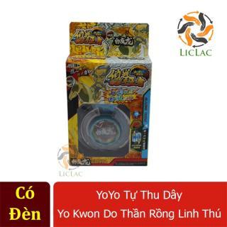 Yoyo tự thu dây Yo Kwon Do Thần Rồng Linh Thú ( Có Đèn ) - Đồ chơi yoyo tự thu dây cho bé tập chơi - LICLAC thumbnail