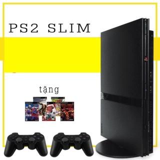 Máy game ps2 mỏng slim chính hãng tặng 5 đĩa game và 1 save thumbnail