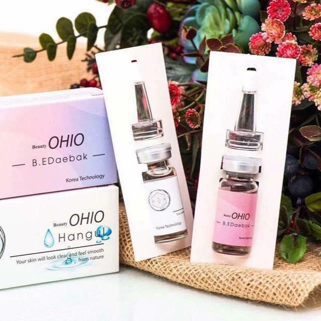 Serum ủ mụn OHIO sạch mụn làm trắng da tốt nhất