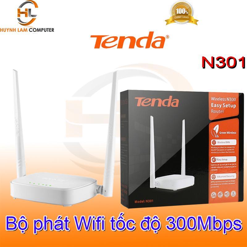 Giá Quá Tốt Để Mua Bộ Phát Wifi Tenda N301 Tốc Độ 300Mpbs Nhỏ Gọn Thời Trang Sóng Khỏ - Microsun Phân Phối - Bảo Hành 3 Năm