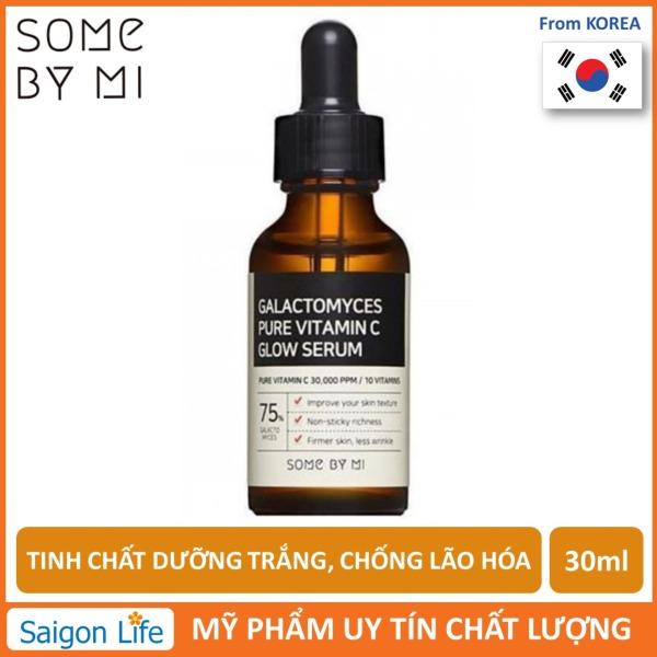 Tinh Chất Dưỡng Trắng, Chống Lão Hóa Some By Mi Galactomyces Pure Vitamin C Glow Serum 30ml nhập khẩu