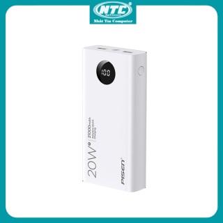 Pin sạc dự phòng Pisen Quick TS-D298 21000mAh 2 USB QC3.0 TypeC PD 20W hiển thị LED (Trắng) - Nhất Tín Computer thumbnail