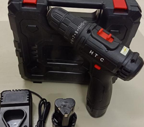 KHOAN PIN 12V - 2 TỐC ĐỘ - KHOAN PIN 12V HTC