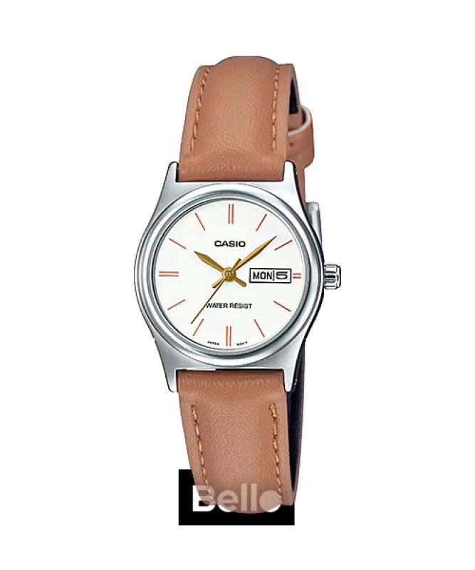 Đồng hồ Casio Nữ LTP-V006L-7B2UDF chính hãng giá rẻ - Bảo hành 1 năm - Pin trọn đời