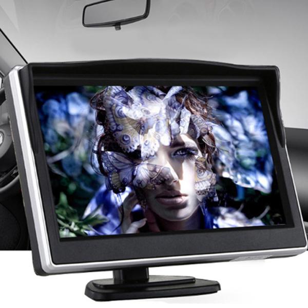 Bộ Camera Cập Lề Kèm Màn Hình Ô Tô 5 Inch 800x480P