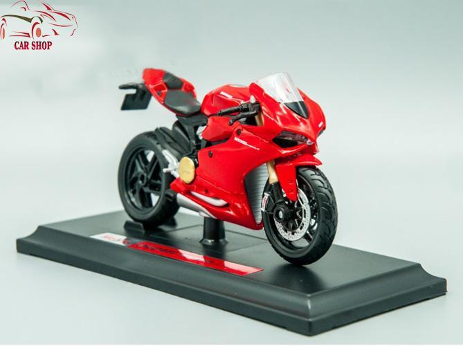 Xe Mô Hình Siêu Xe Ducati 1199 Panigale Tỉ Lệ 1:18 Giá Tốt Duy Nhất tại Lazada