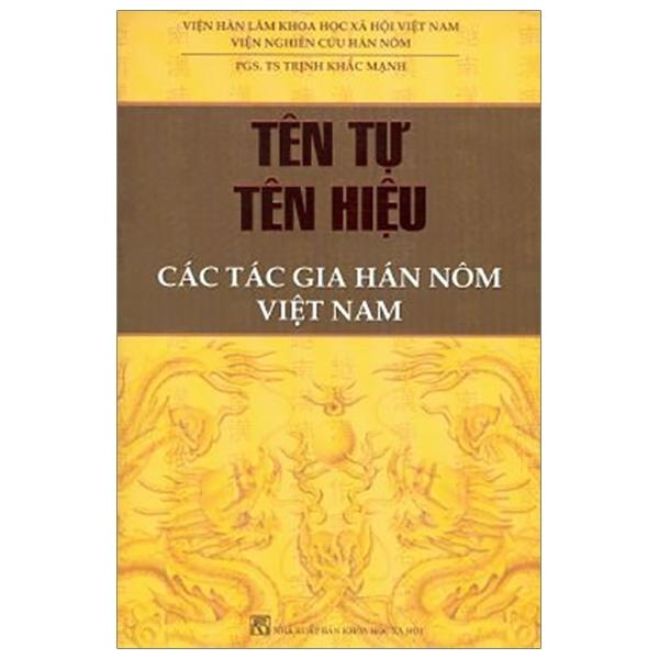Mua Fahasa - Tên Tự Tên Hiệu - Các Tác Gia Hán Nôm Việt Nam