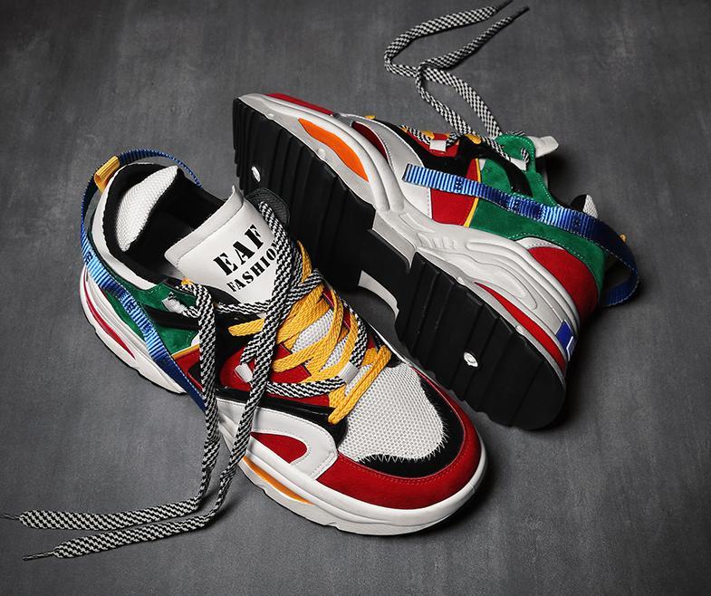 Lazada Ưu Đãi Khi Mua Giày Thể Thao Sneaker Nam D65 đường May Tinh Tế, êm Và ôm Chân, đế Cao Su Dày Dặn, Phong Cách Trẻ Trung Thời Trang
