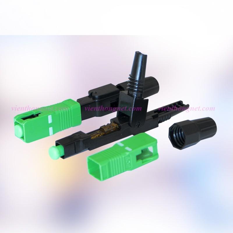Bảng giá 100 Đầu Fast Connect Đầu nối cáp quang nhanh FTTH SC SC APC Phong Vũ