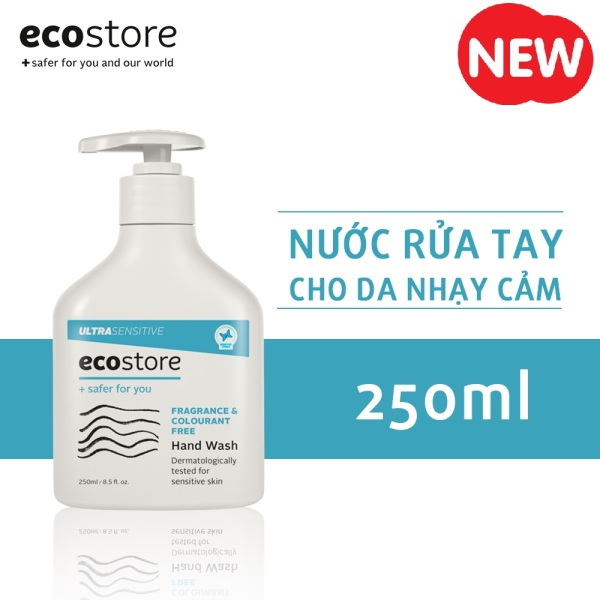 [12.12] Nước rửa tay cho da nhạy cảm gốc thực vật Ecostore 250ml giá rẻ