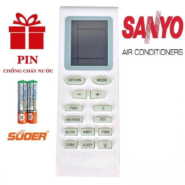 [Nhập ELJAN2 giảm đến 200k cho đơn 99k]Điều khiển điều hoà SANYO đa năng - Remote máy lạnh SANYO chính hãng