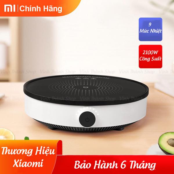 Bếp Từ Đơn - Bếp Điện Từ Xiaomi Mijia Thông Minh DCL002CM Mặt Kính Cường Lực Công Suất 2100W Bảo Hành 6 Tháng
