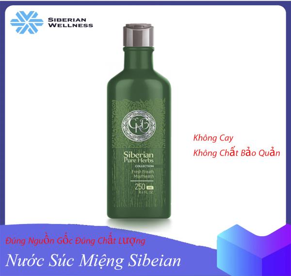 Nước súc miệng cho hơi thở thơm mát Siberian Pure Herbs Collection Fresh Breath MouthwashNước Súc Miệng Sibeian, Nước Súc Miệng Cai Thuốc Lá, Nước Súc Miệng Thiên Nhiên Joconi giá rẻ