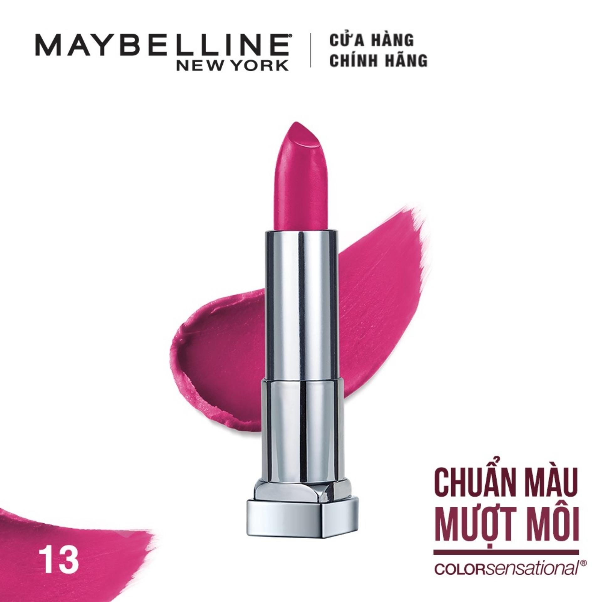 Son lì mịn môi Maybelline New York Color Sensational The Creamy Mattes 3.9g tốt nhất